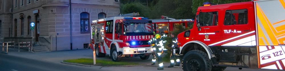Kaminbrand in Thörl