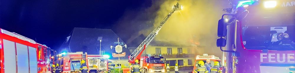 Großbrand in Seewiesen